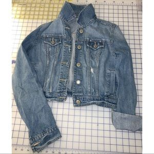 AE Cropped Jean Jacket